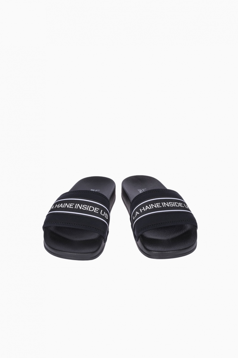 LA HAINE INSIDE US MAN SLIPPERS