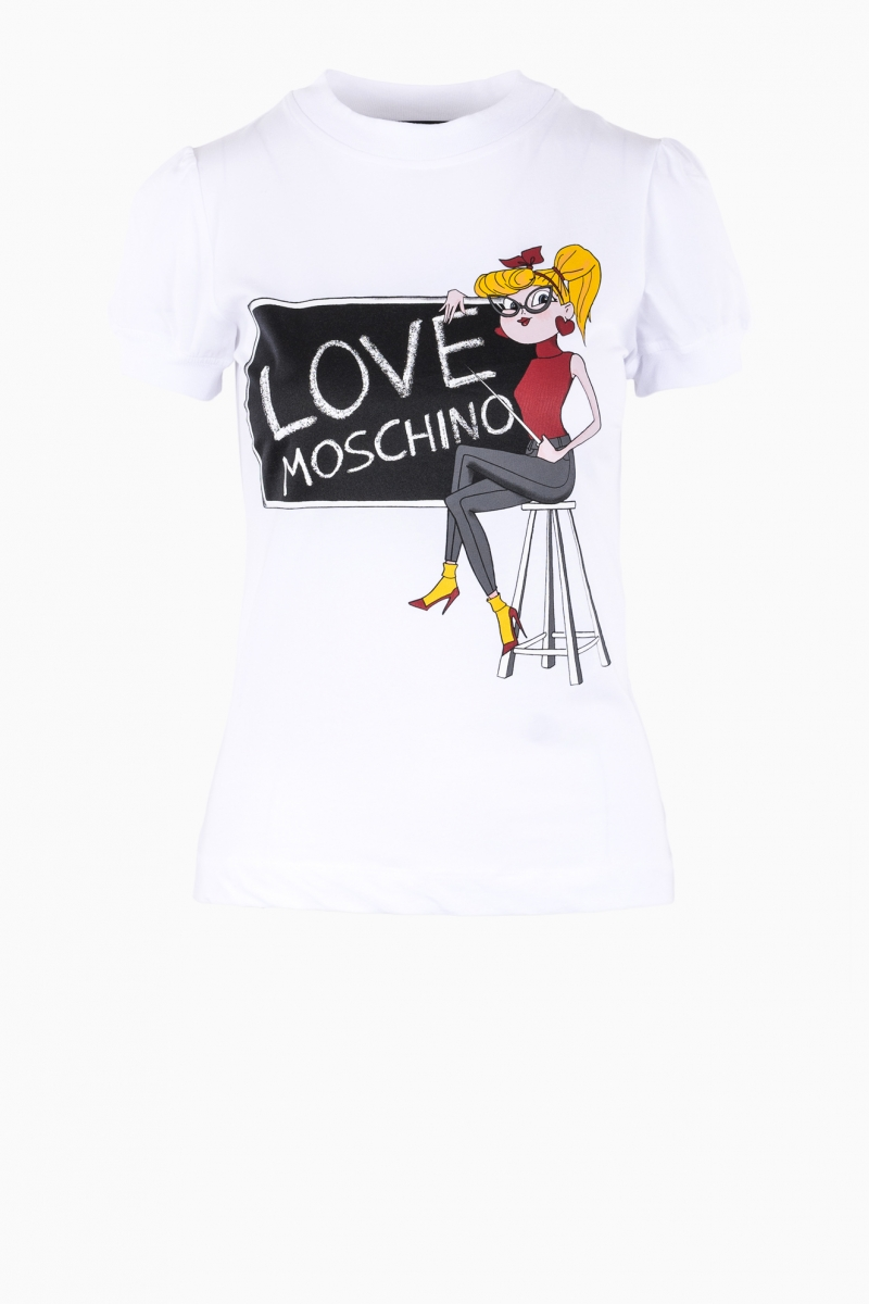 TRICOU LOVE MOSCHINO