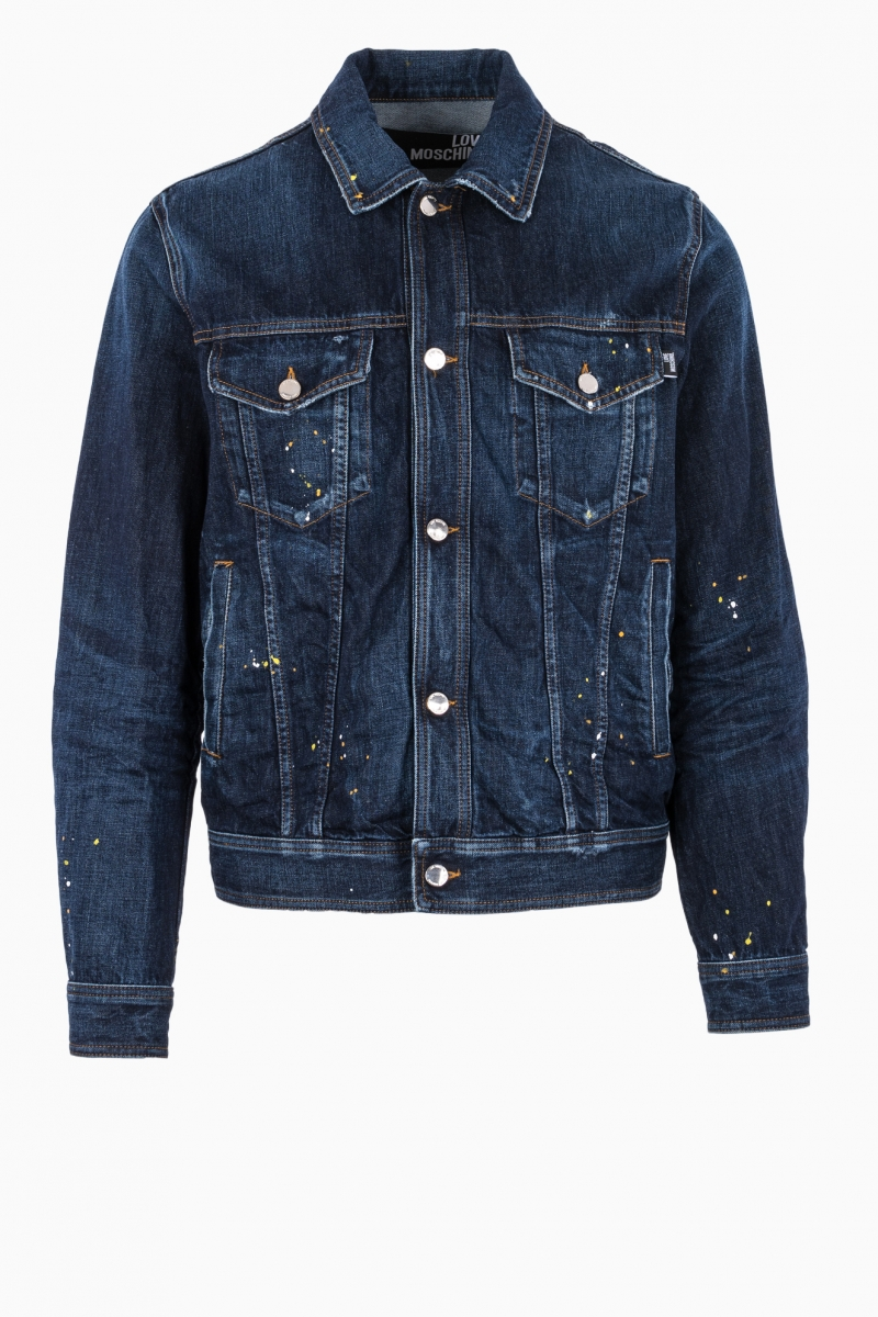 LOVE MOSCHINO MAN JEANS JACKET