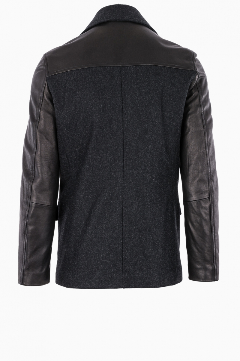BIKKEMBERGS MAN LEATHER JACKET