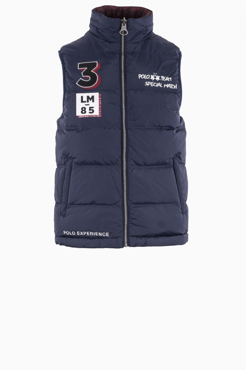 LA MARTINA MAN VEST REVERSIBLE