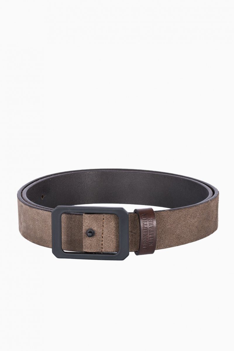 AERONAUTICA MILITARE MAN LETHER BELT