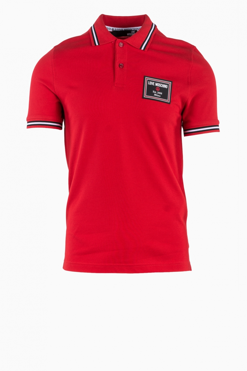 LOVE MOSCHINO MAN POLO T-SHIRT
