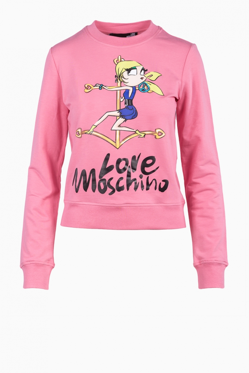 LOVE MOSCHINO WOMAN BLOOUSE