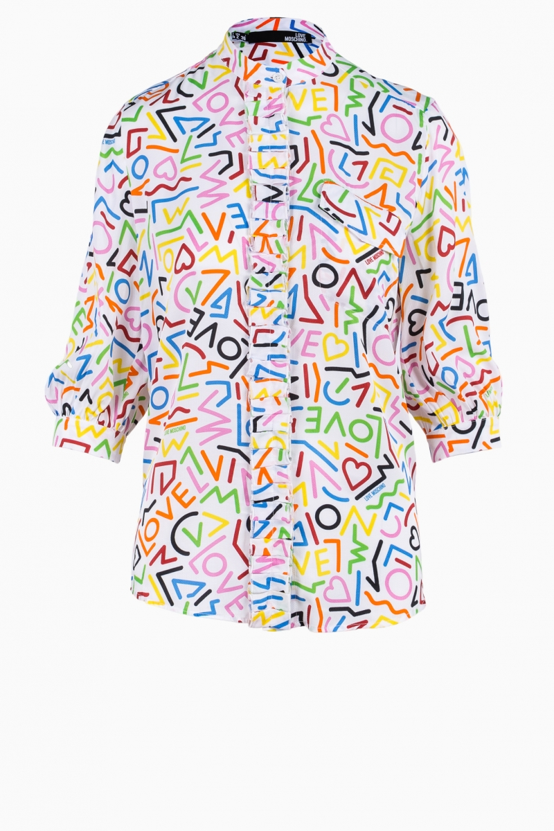 LOVE MOSCHINO WOMAN SHIRT