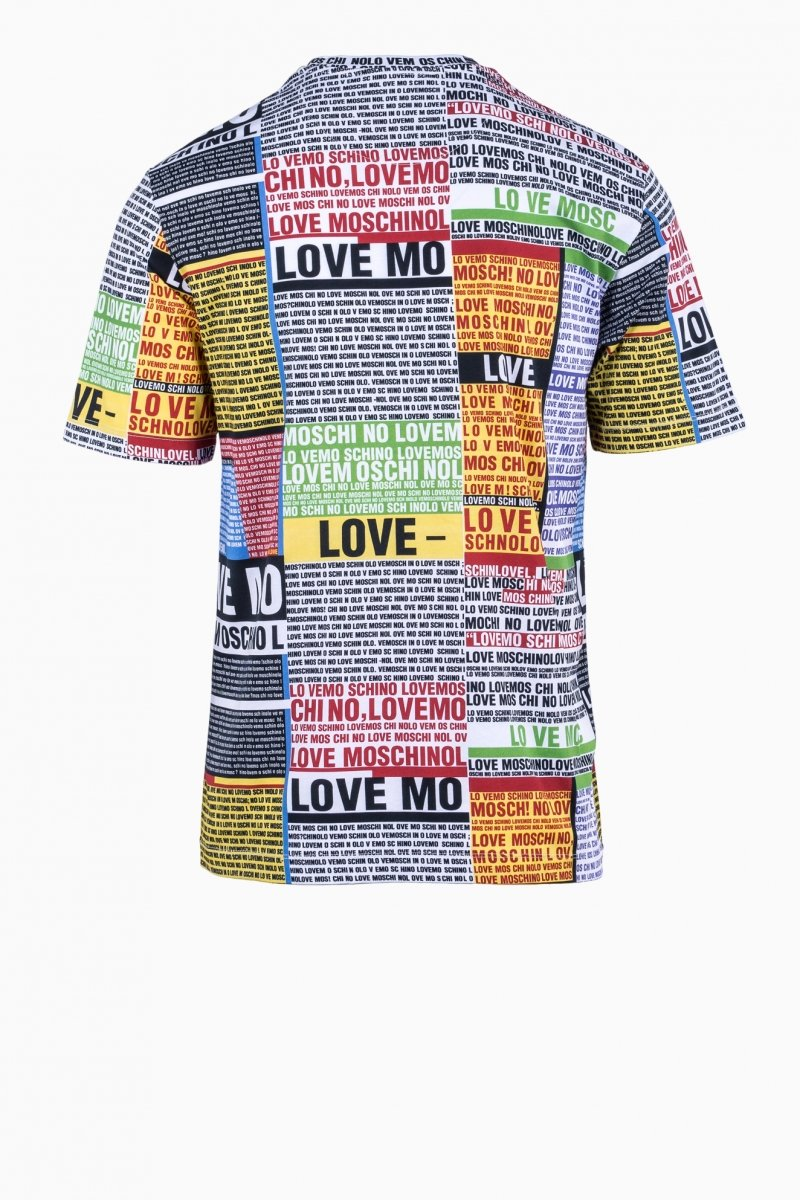 LOVE MOSCHINO MAN T-SHIRT