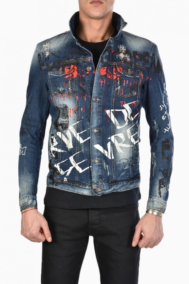 XAGON MAN MAN JEANS JACKET