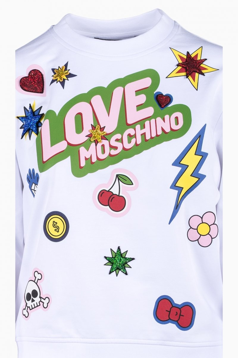 LOVE MOSCHINO WOMAN BLOUSE