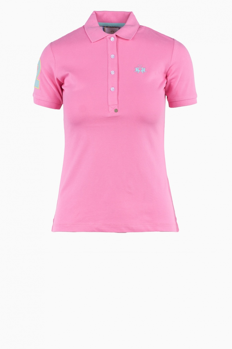 LA MARTINA WOMAN POLO T-SHIRT