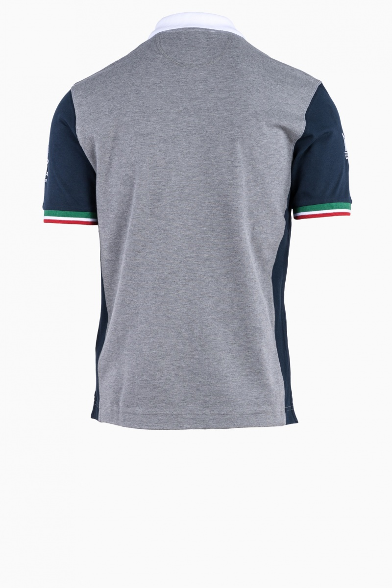 LA MARTINA MASERATI MAN POLO T-SHIRT