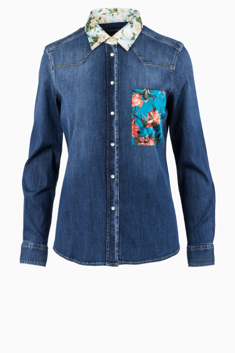 JACOB COHEN WOMAN SHIRT JEANS