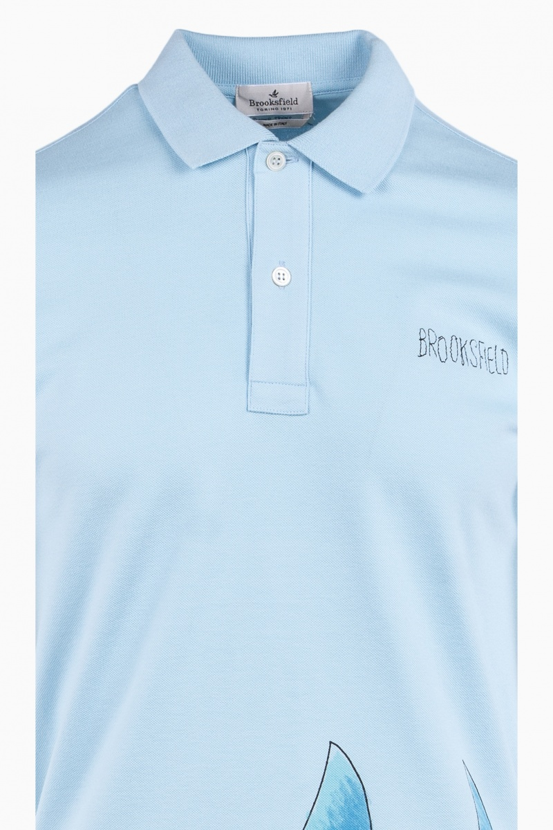 BROOKSFIELD MAN POLO T-SHIRT SUMMER STORIES