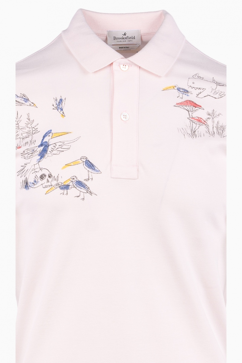 TRICOU POLO BARBATI BROOKSFIELD SUMMER STORIES
