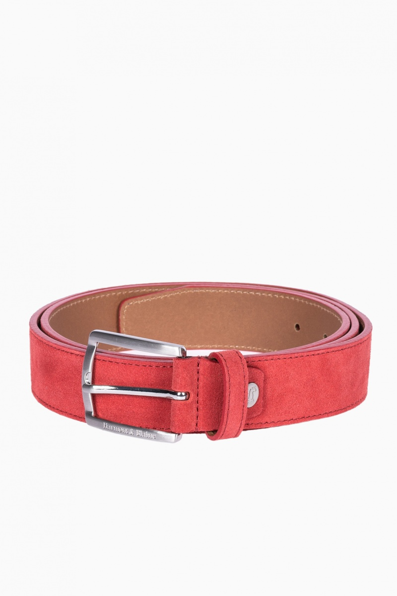 HARMONT&BLAINE MAN LEATHER BELT
