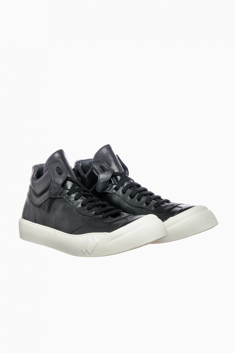 CINZIA ARAIA MAN HIGH-TOP SNEAKERS