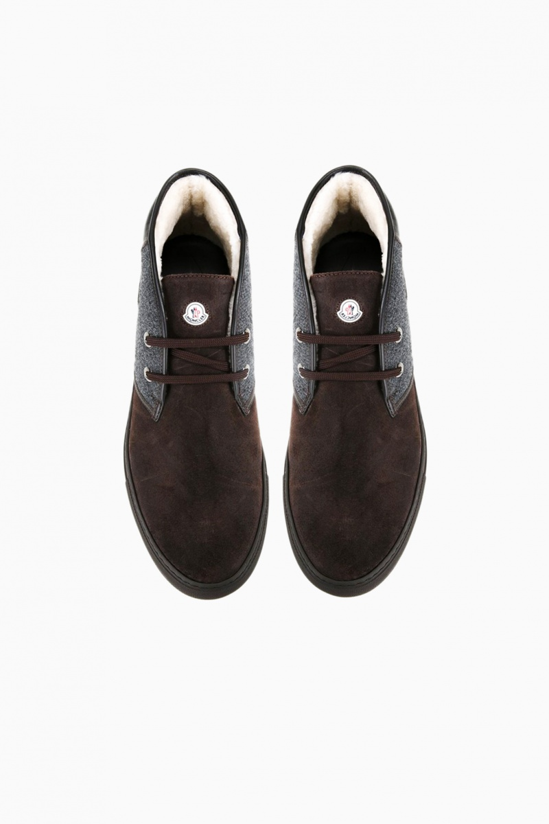 MONCLER MAN LOW-TOP BOOTS