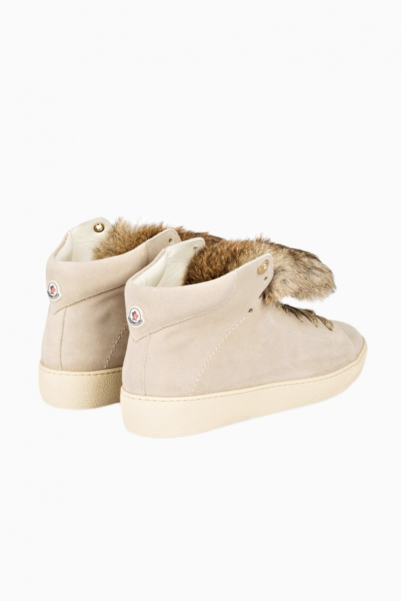 MONCLER WOMAN HIGH-TOP SNEAKERS
