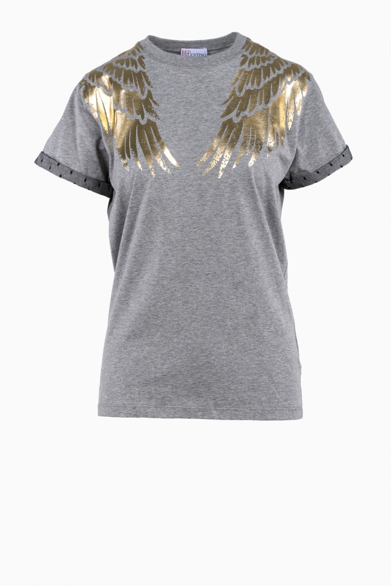 RED VALENTINO GARAVANI WOMAN T-SHIRT