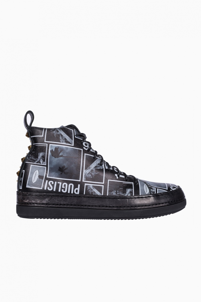 FAUSTO PUGLISI MAN HIGH-TOP SNEAKERS