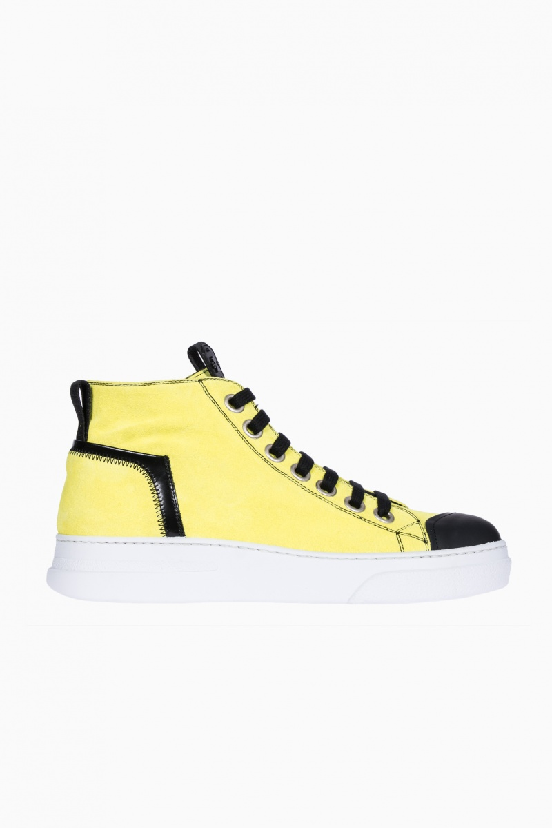 BRUNO BORDESE MAN HIGH-TOP SNEAKERS