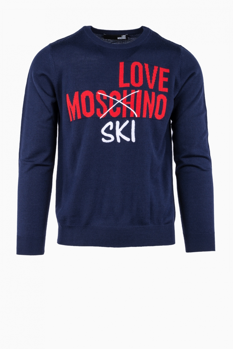 LOVE MOSCHINO MAN SWEATER