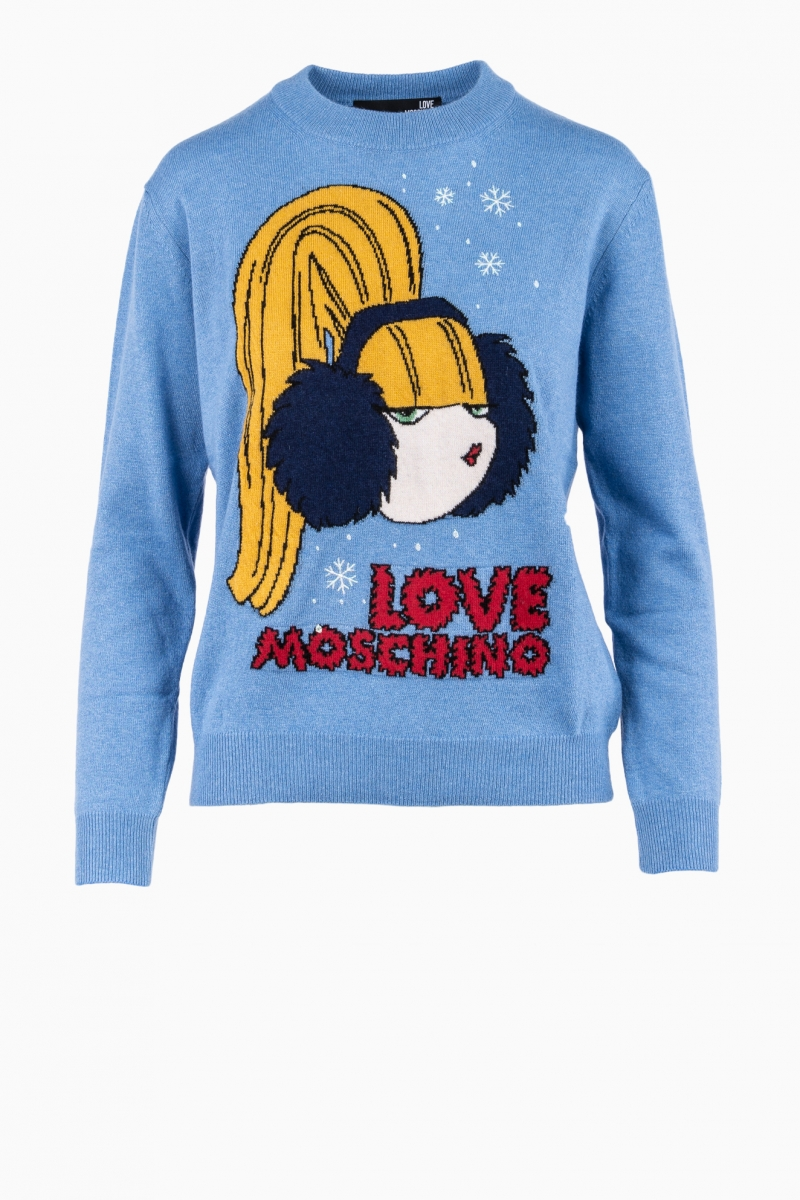 MOSCHINO WOMAN SWEATER