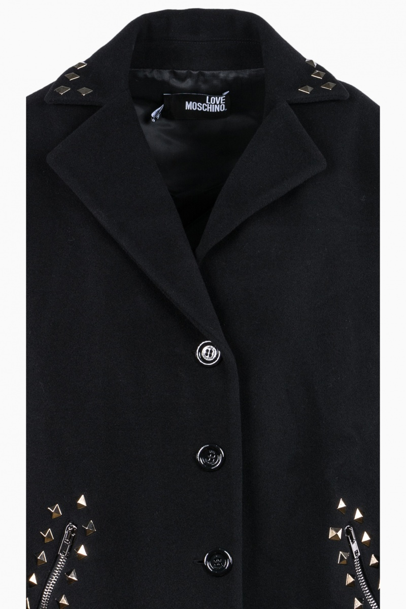 LOVE MOSCHINO WOMAN OVERCOAT