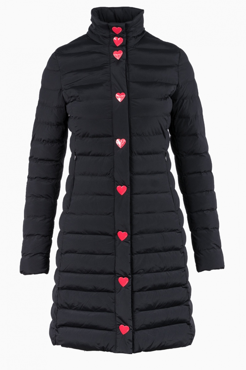LOVE MOSCHINO WOMAN COAT