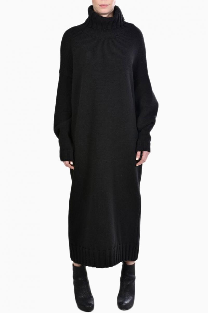 LA HAINE INSIDE US WOMAN SWEATER DRESS
