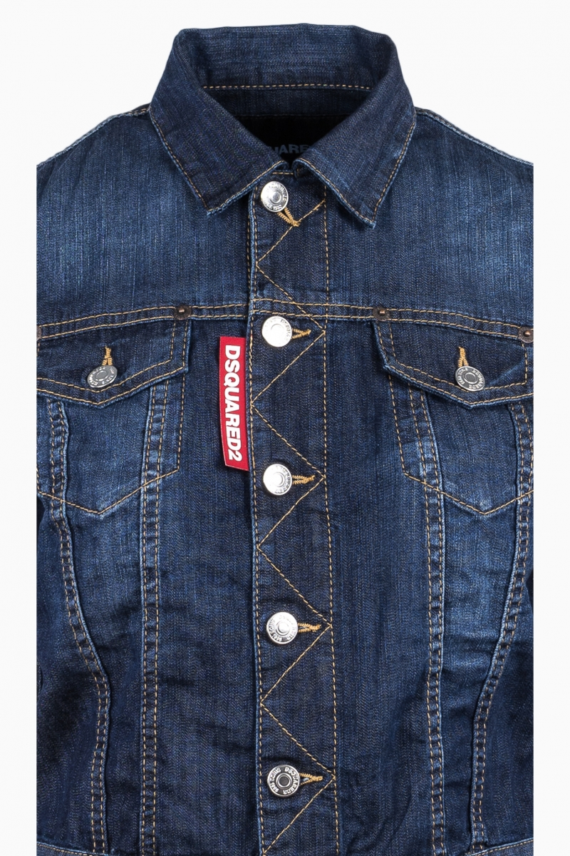 DSQUARED2 WOMAN DENIM JACKET