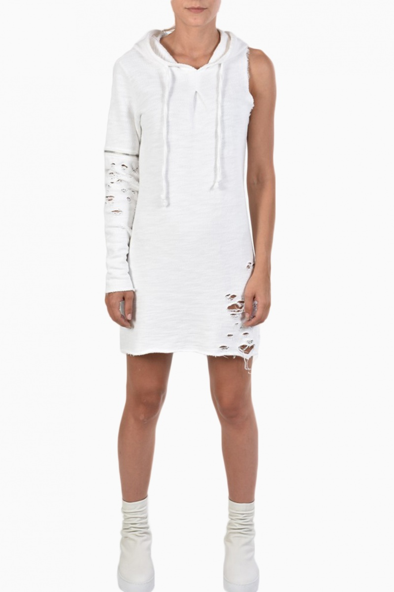 LA HAINE INSIDE US WOMAN SWEATSHIRT DRESS