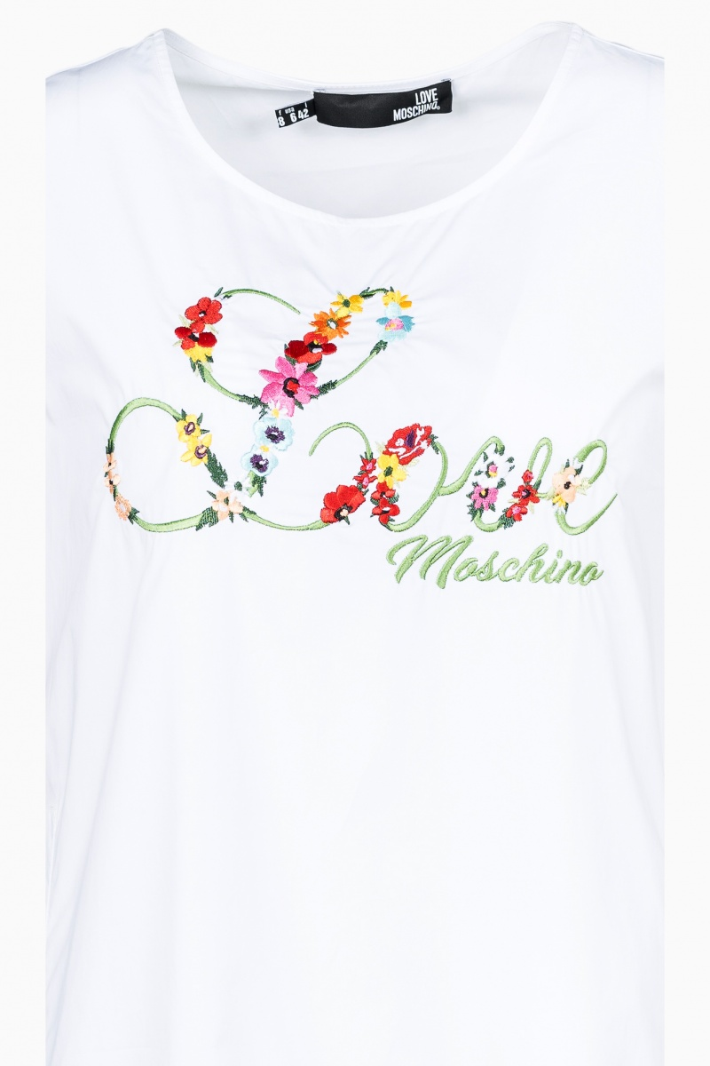 LOVE MOSCHINO WOMAN DRESS