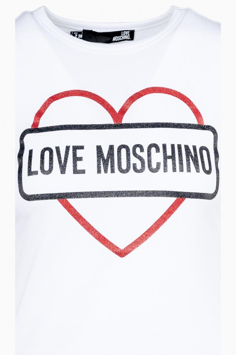 LOVE MOSCHINO WOMAN T-SHIRT