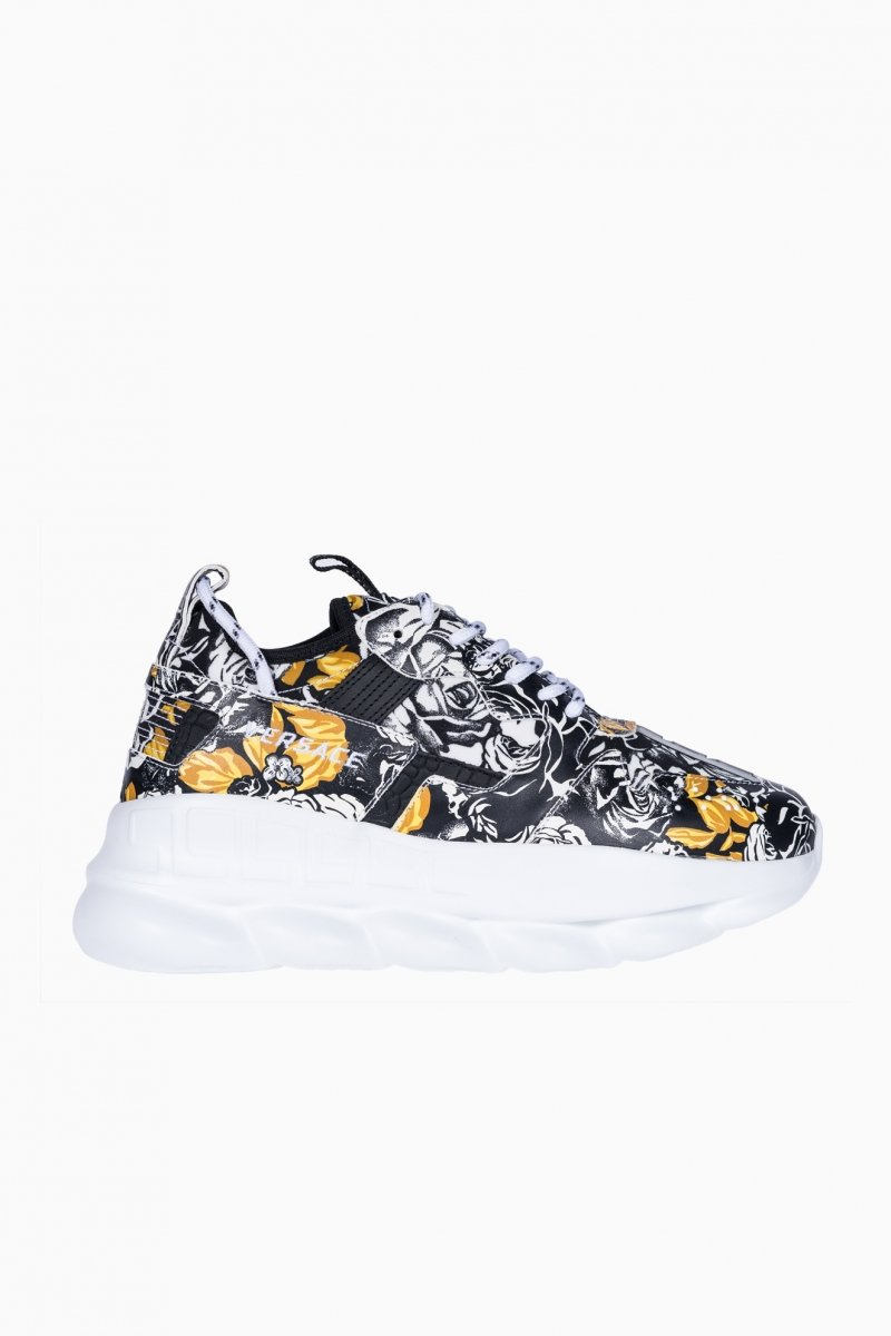 VERSACE CHAIN REACTION TRAINERS MEN SNEAKERS