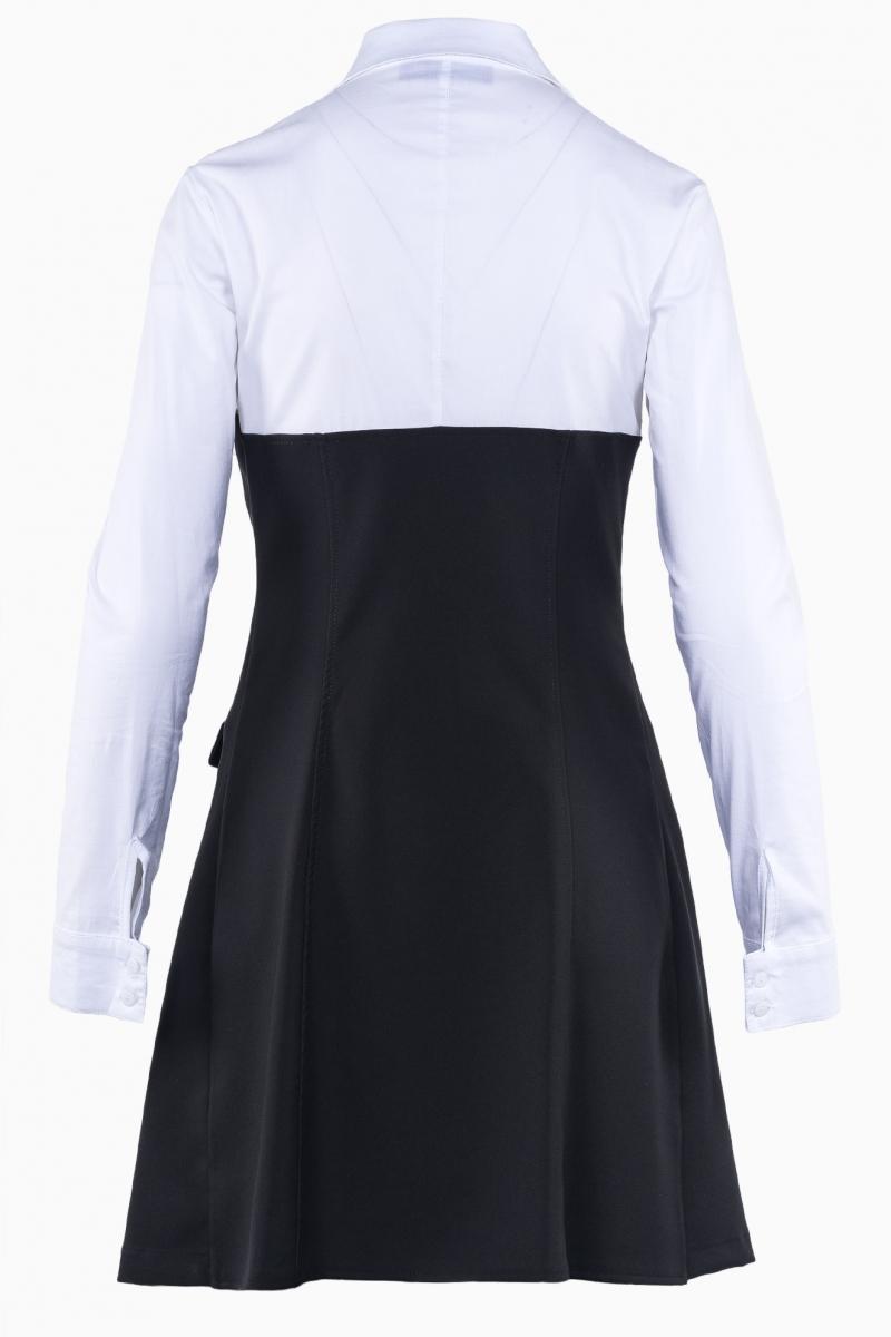 LA HAINE INSIDE US WOMAN SWEATSHIRT DRESS