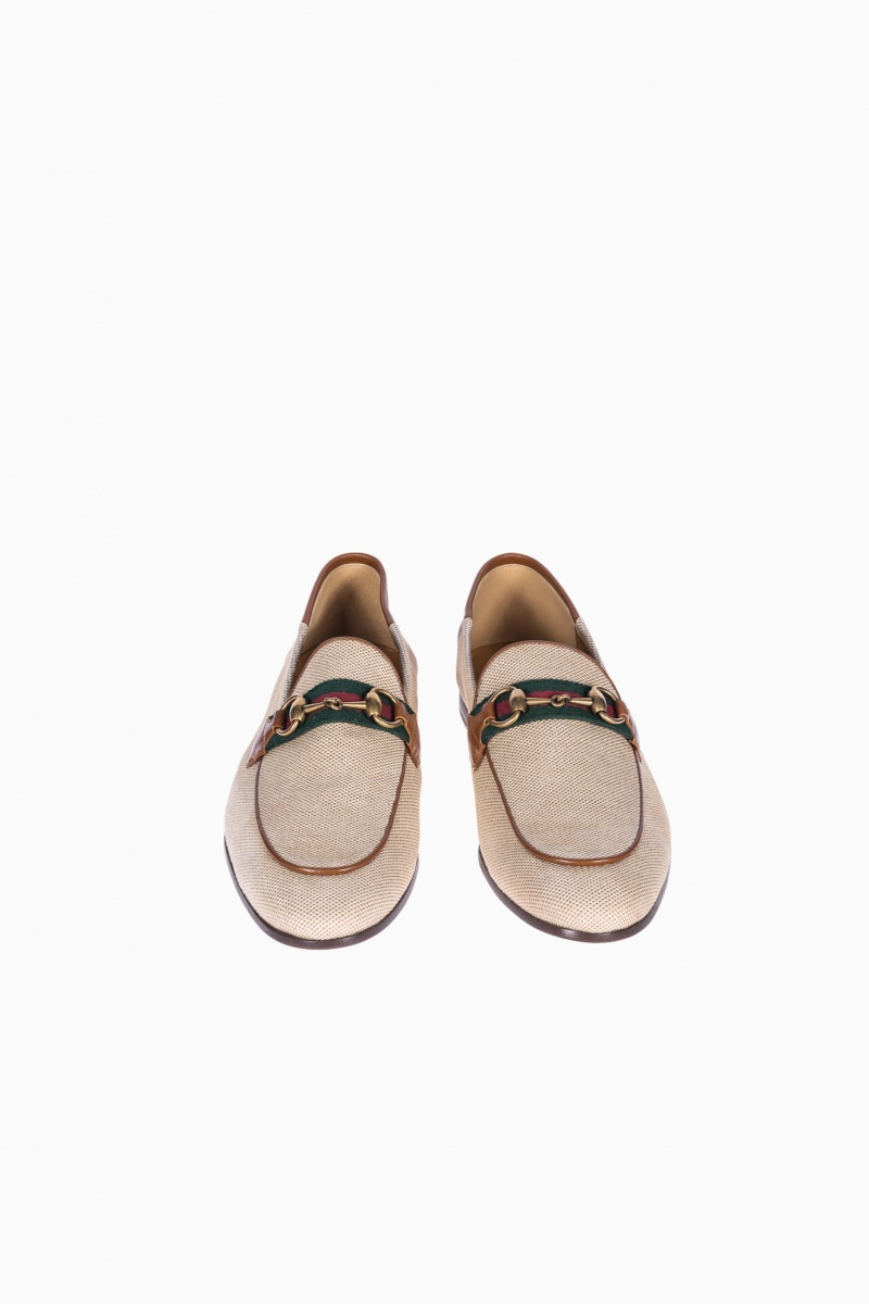 MEN LOAFERS GUCCI BRIXTON WEBBING