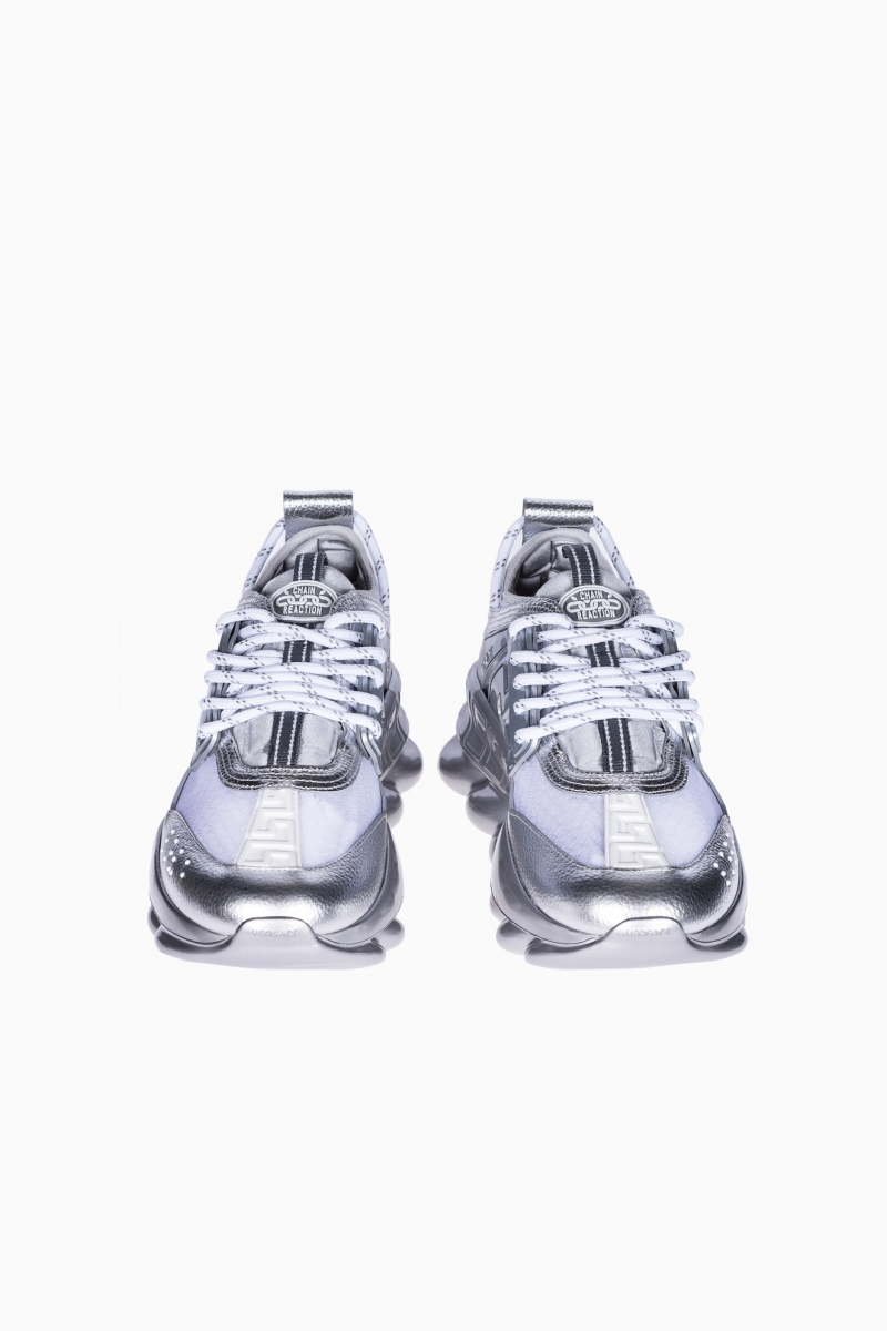 VERSACE CHAIN REACTION TRAINERS WOMEN SNEAKERS